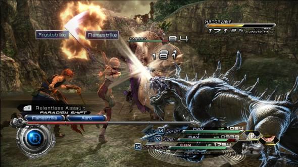 Final Fantasy XIII-2 - Combat