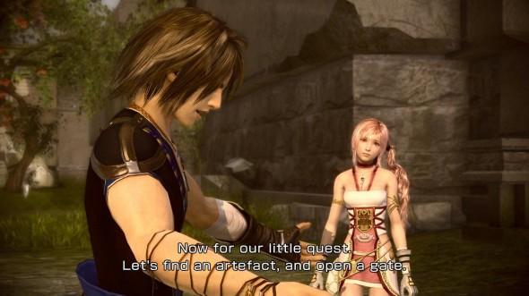 Final Fantasy XIII-2 - Histoire