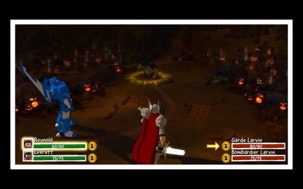 Costume Quest - Combat