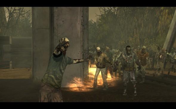 Après tout ça, difficile d'imaginer que le plus gros danger pour le groupe, ce soit les zombis.