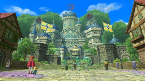 La première ville du jeu possède un charme fou.