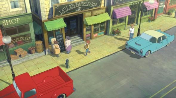 C'est Motorville, le monde réel où vit Oliver. Son grimoire lui permet de voyager dans le monde magique de Ni No Kuni.