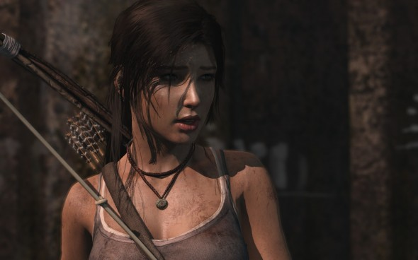 La belle Lara Croft...