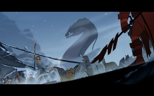 The Banner Saga - bataille-du-pont