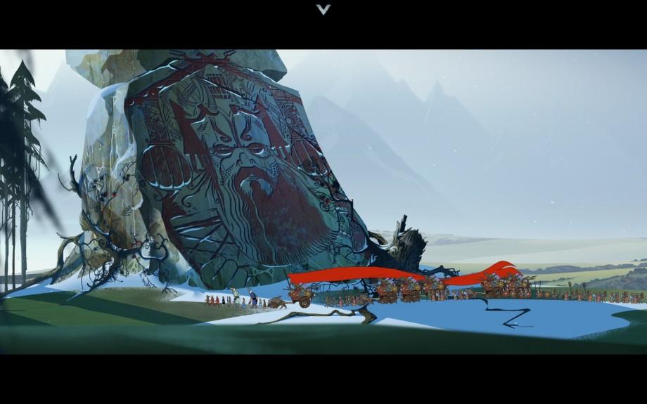 Les pierres divines dévoilent une partie de la mythologie de The Banner Saga.