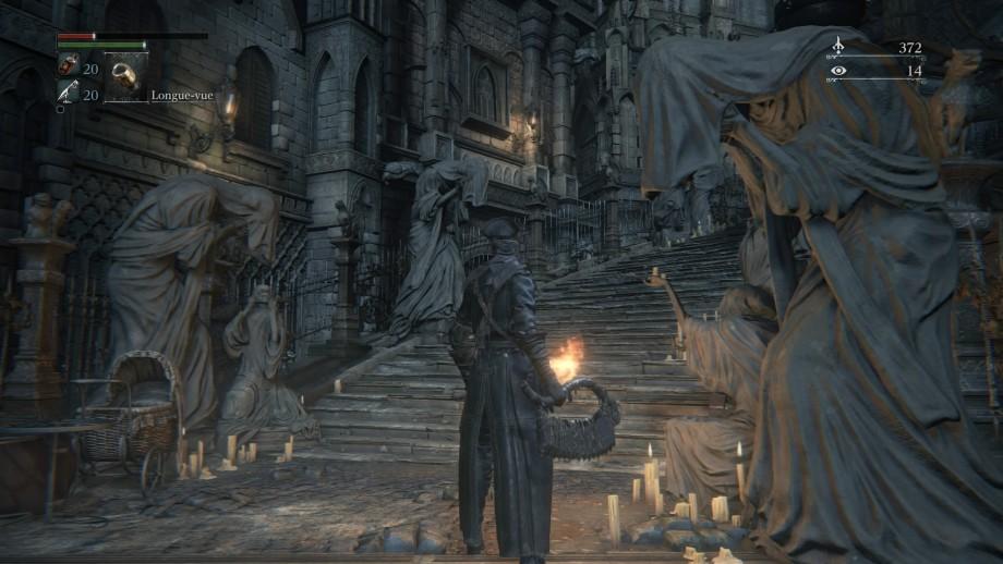 Bloodborne - statues