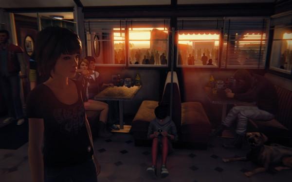 A la fin, Max aperçoit toutes les âmes qu'elle a touché d'une manière ou d'une autre. La vie est complexe, étrange.