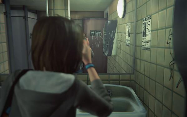 Life is Strange est blindé de références., même si elles sont un peu en décalage avec l'âge des protagonistes. Twin Peaks, Retour vers le Futur, le Silence des Agneaux, ...